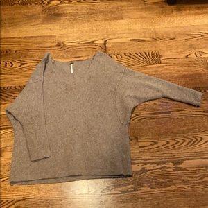 Free people slouchy tunic sweater